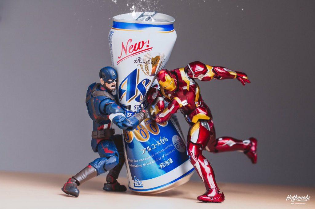 ホットケノービさんの「空き缶は潰して捨てましょう」の写真が面白い!