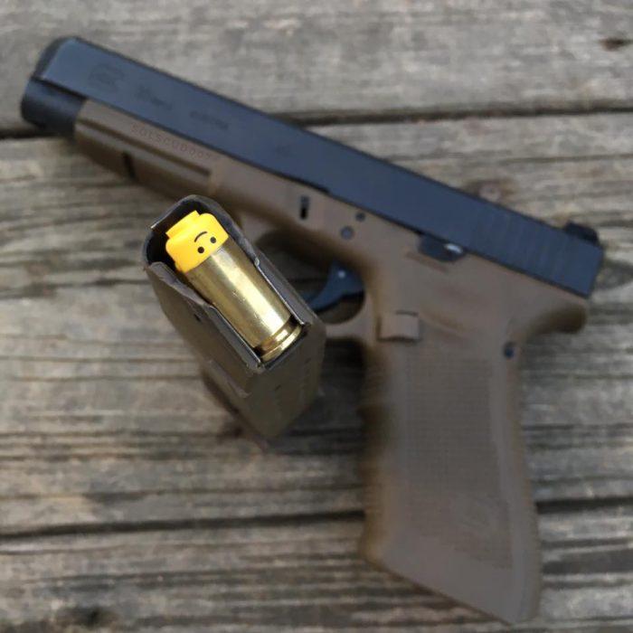 何これヤバい「レゴブロックの頭部は40口径の拳銃に装填できる」