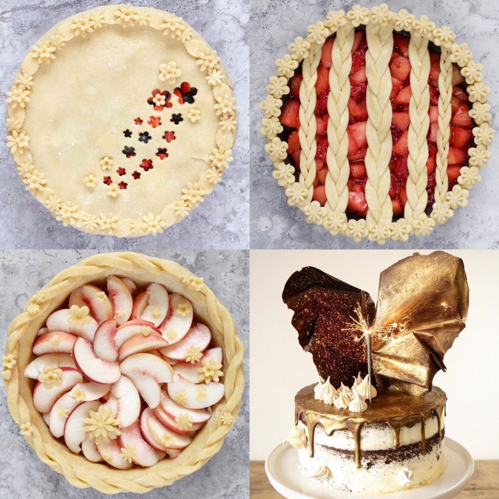 とても可愛いケーキを作っている人がトップレスで話題